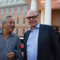 Anish Kapoor and Nicholas Logsdail