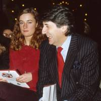 Francesca Hunt and Tom Conti