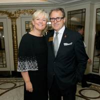 Jo Malone and Ben Hughes