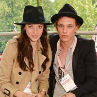 Matilda Lowther and Jamie Campbell Bower