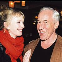 Mrs Hilton Mcrae and Simon Callow