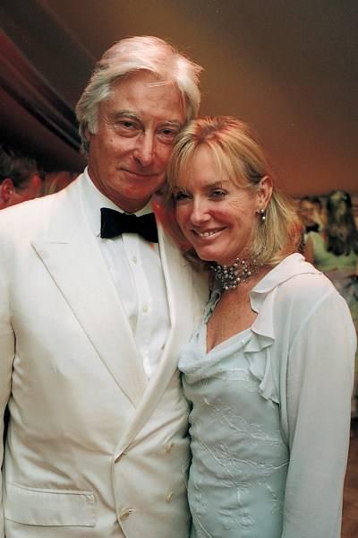 Prince Nicholas von Preussen and Sarah Macmillan