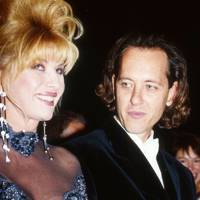 Ivana Trump and Richard E. Grant
