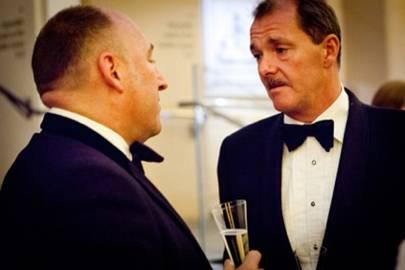 Mick Newton and Peter Bond