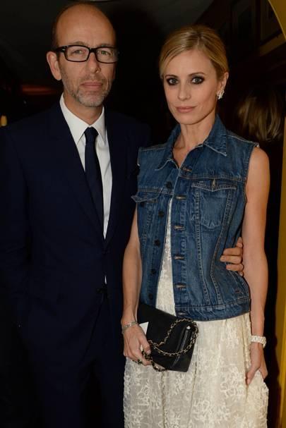 Eric Fellner and Laura Bailey
