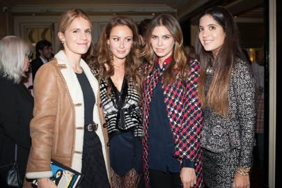 Eugenie Niarchos, Camilla Al Fayed, Dasha Zhukova and Noor Fares