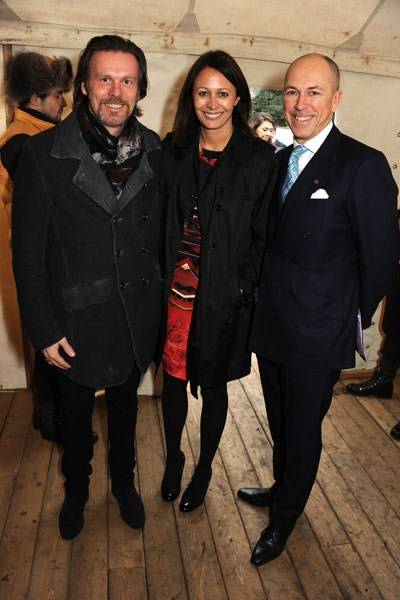 Reinhard Mieck, Caroline Rush, Dylan Jones