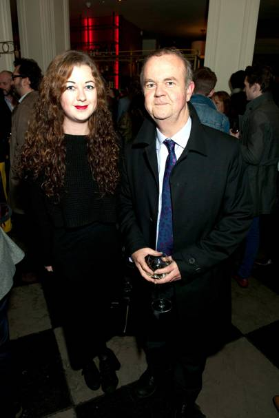 Emily Hislop and Ian Hislop