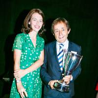 Alice Rose and Dr Anthony Seldon