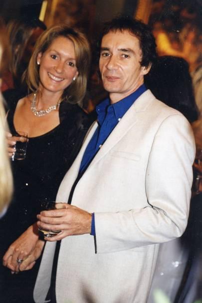 Viscountess Cowdray and Bob Carlos Clarke