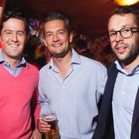 Louis Holding-Parsons, Hendrik van Donkersgoed and Michiel van Wijk