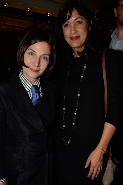 Donna Tartt and Annabel Brooks