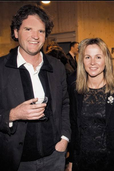 Tom Stuart-Smith and Viscountess Rothermere