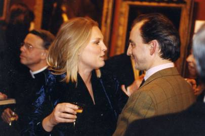 Viscountess Gormanston and Philip Mould