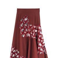 Felt & PVC skirt, £1,420 by Roksanda Ilincic