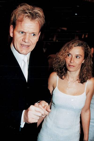 Gordon Ramsay and Mrs Gordon Ramsay