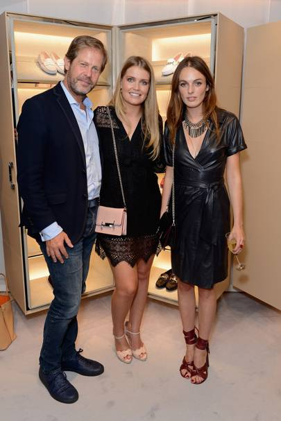 Niccolò Barattieri di San Piero, Lady Kitty Spencer and Lady Violet Manners