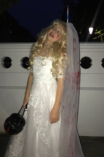 Liberty Samuel as a corpse bride