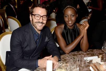 Jeremy Piven and Lupita Nyongo