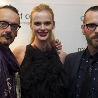 Viktor Horsting, Anne Vyalitsyna and Rolf Snoeren in Milan