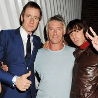 Bradley Wiggins, Paul Weller and Miles Kane