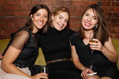 Kate Rossiter, Ella Baldwin and Kate Pope