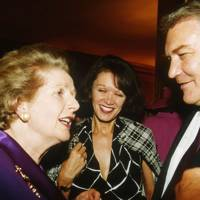 Baroness Thatcher, Mrs Conrad Black and Conrad Black