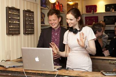 Richard Jones and Sophie Ellis-Bexter