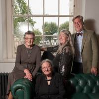 Pat Easterling, Joyce Reynolds, Mary Beard and Roger Michel