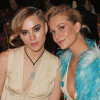 Suki Waterhouse and Poppy Delevingne