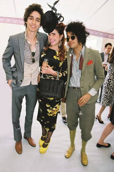 Robert Sheehan, Paloma Faith and Josh Weller