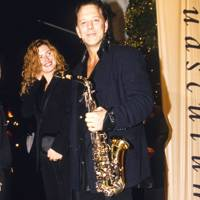 Carre Otis and Mickey Rourke