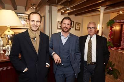 Balthazar Fabricius, Laim Botham and Stefano Arata