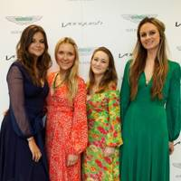 Lady Natasha Rufus Isaacs, Gabby Guthrie, Rebecca Roe and Bryony Daniels