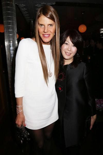 Anna Dello Russo and Mitsuko Watanabe