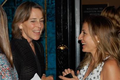 Kate Maguire and Sawsan Asfari