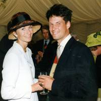 Mrs Mark van der Gaag and Mark van der Gaag