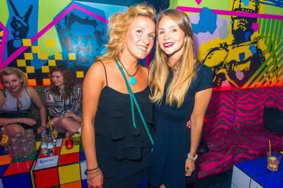 Annalisa Maestri and Amanda Rondina