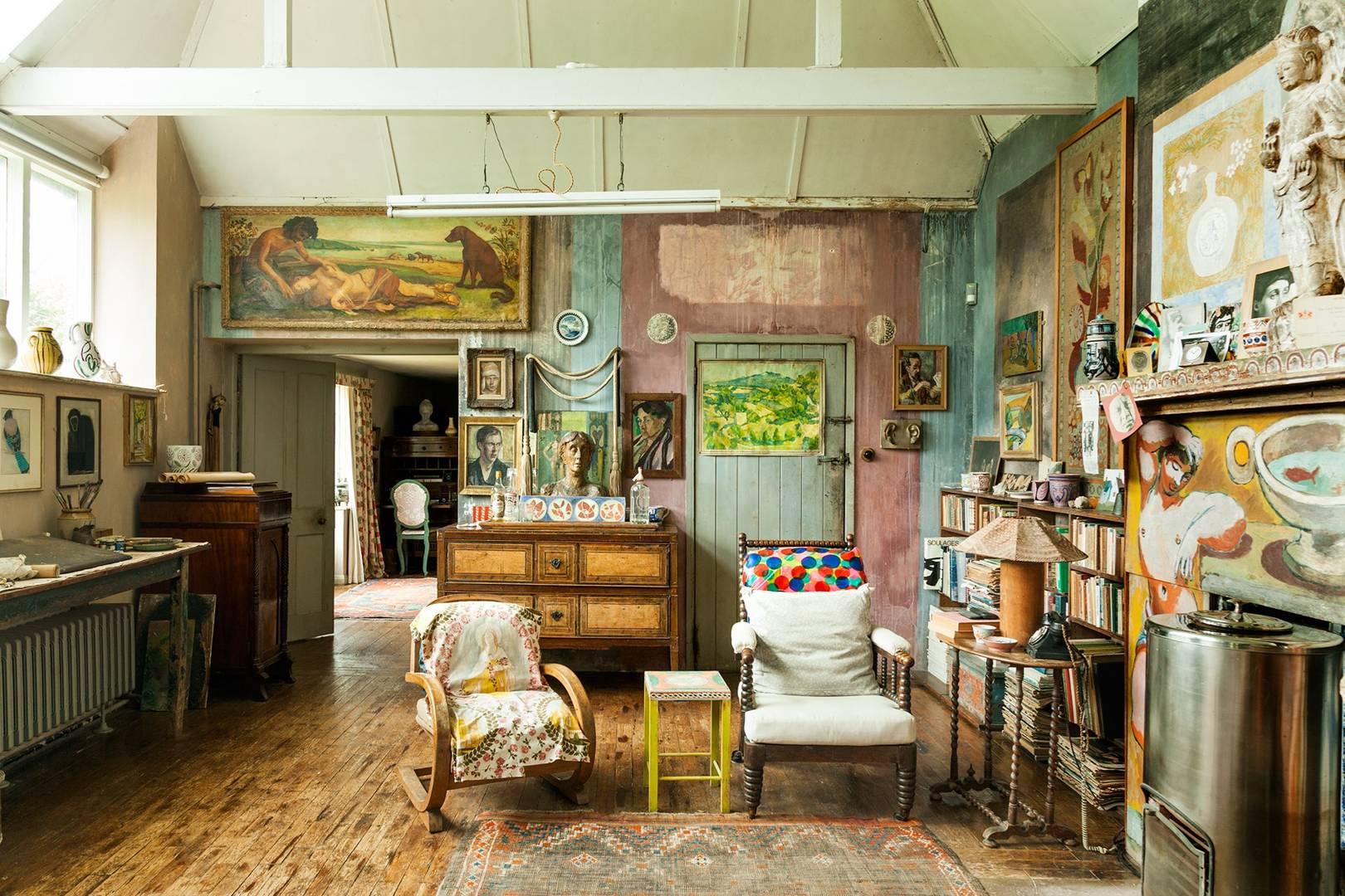 Charleston House East Sussex Interiors U0026 Bloomsbury Group House | Tatler