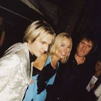 Nick Rhodes, Madeleine Farley and Simon Le Bon