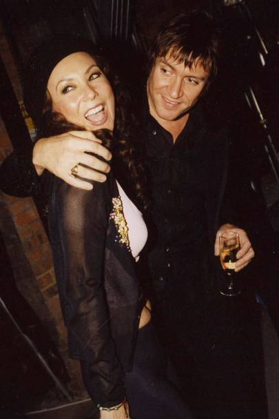 Marie Helvin and Simon Le Bon
