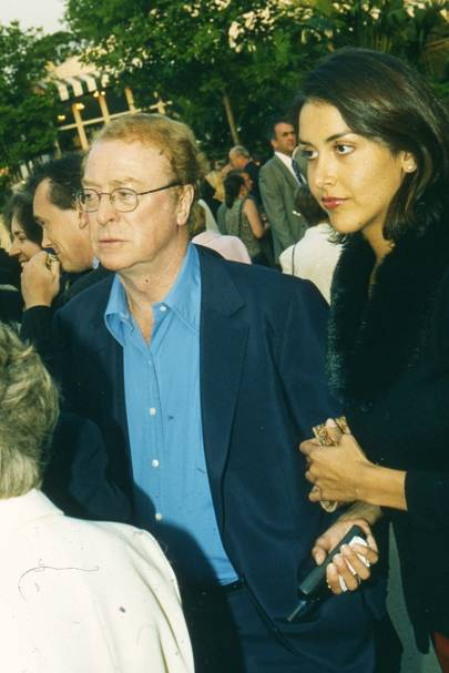 Michael Caine and Natasha Caine