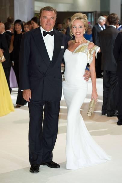 Prince Carlos de Bourbon Two Sicilies and Princess Camilla de Bourbon Two Sicilies