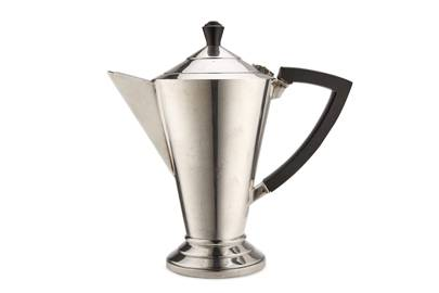 Silver-plated coffee pot