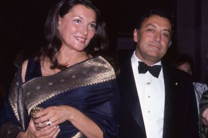 Mrs Zubin Mehta and Zubin Mehta