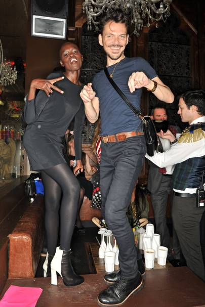 Grace Bol and Matthew Williamson