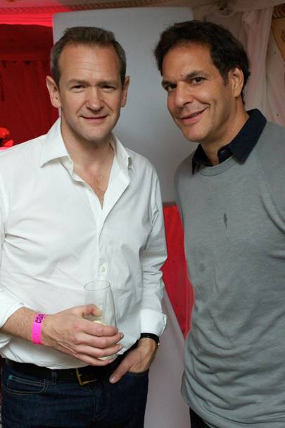 Alexander Armstrong and Brent Hoberman