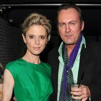 Emilia Fox and Philip Glenister