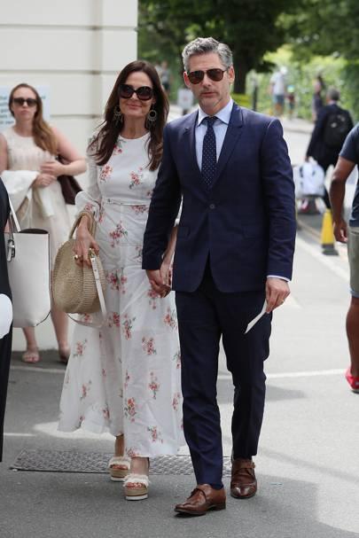 Rebecca Gleeson and Eric Bana