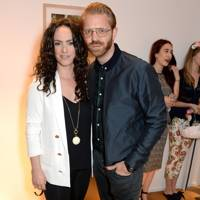 Amy Manson and Alistair Guy